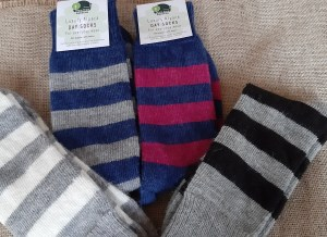 Colours stripy socks