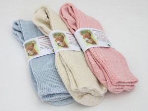 Luxury alpaca bed socks