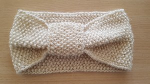 Trendy (moss stitch) headband